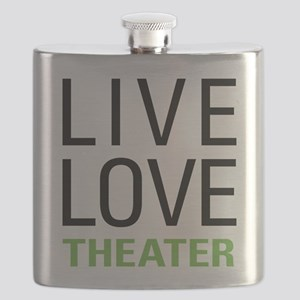 Live Love Theater Flask