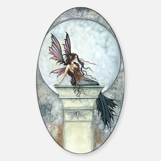 Autumn Moon Fairy Fantasy Art Decal
