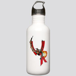 Wyvern Rising Logo Stainless Water Bottle 1.0l