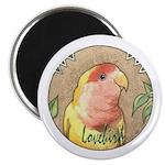 Lovebird Nouveau Magnet