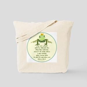 My Frog Prince Tote Bag (Hers)