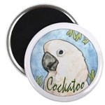 Cockatoo Nouveau Magnet
