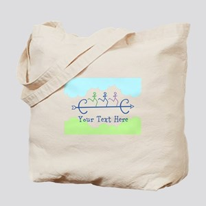 Optional Text Cross Country Running Tote Bag