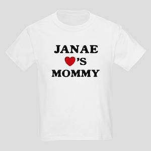 Janae loves mommy Kids Light T-Shirt