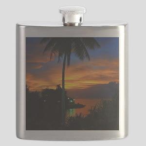 Lagoon Sunset Flask