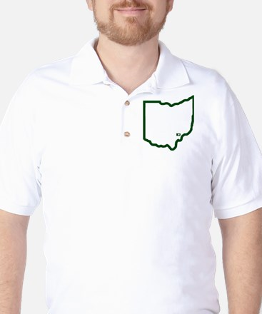 PA to Athens OH Golf Shirt