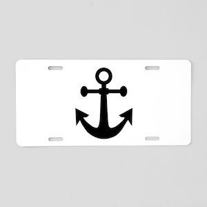 Anchor Aluminum License Plate