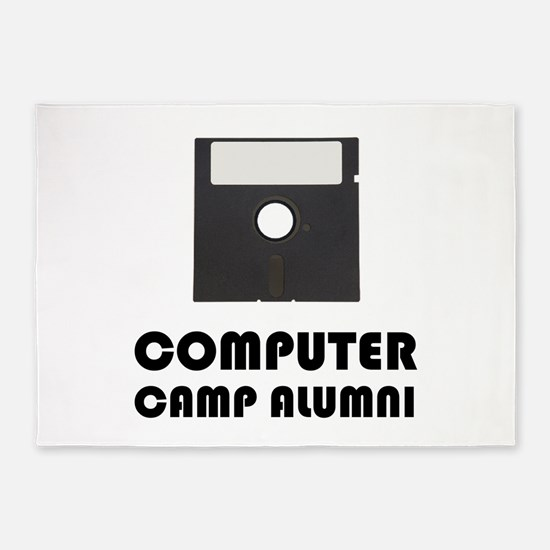 Computer Camp Alumni 5'x7'Area Rug