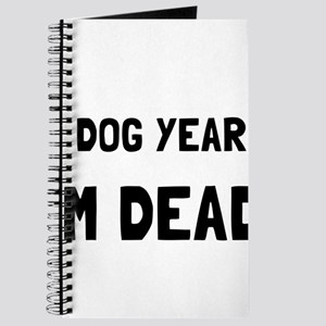 Dog Years Dead Journal