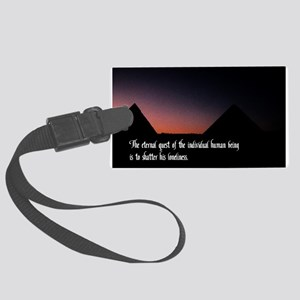 Eternal Quest Large Luggage Tag