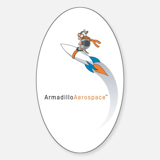 Armadillo Aerospace Oval Decal