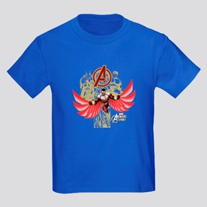 Falcon Red Kids Dark T-Shirt