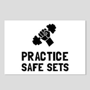 Practice Safe Sets Postcards (Package of 8)