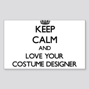 Keep Calm and Love your Costume Designer Sticker