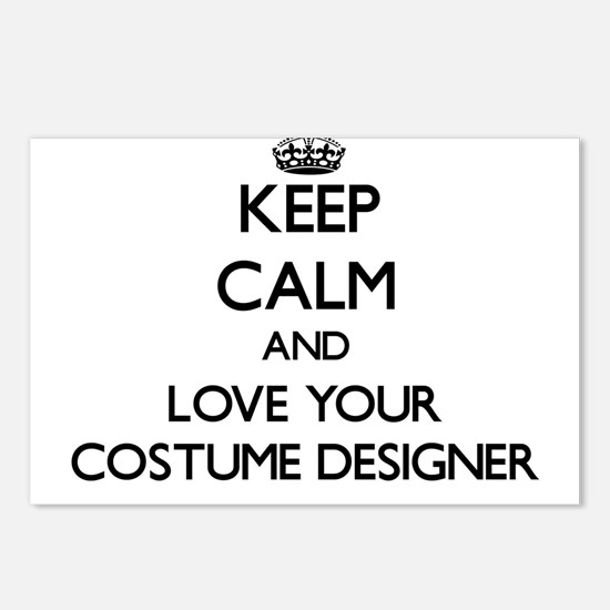 Keep Calm and Love your Costume Designer Postcards