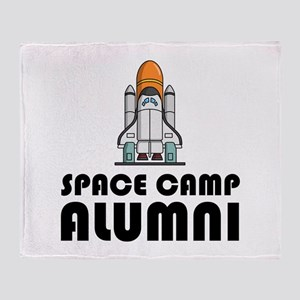 Space Camp Alumni Throw Blanket