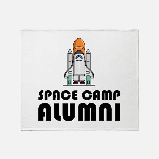 Space Camp Alumni Throw Blanket