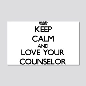 Keep Calm and Love your Counselor Wall Decal