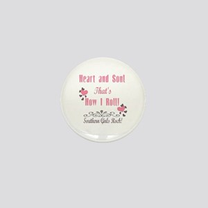 Southern Girls Mini Button