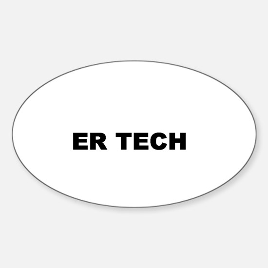 ER TECH Oval Decal