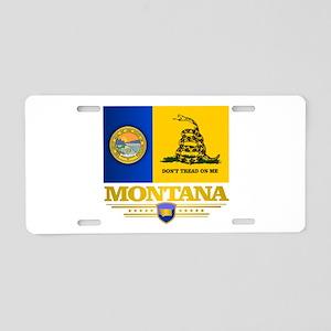 Montana DTOM Aluminum License Plate