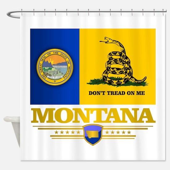 Montana DTOM Shower Curtain