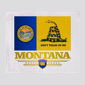 Montana DTOM Throw Blanket