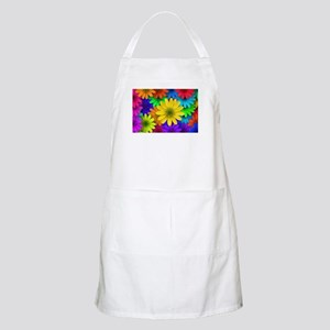 Colorful Daisies Apron