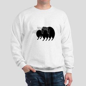 horse dance 03 Sweatshirt