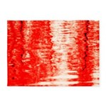 Red Sunrise 5'x7'Area Rug