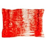 Red Sunrise Pillow Case