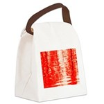 Red Sunrise Canvas Lunch Bag