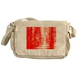 Red Sunrise Messenger Bag
