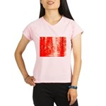 Red Sunrise Performance Dry T-Shirt