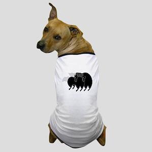horse dance 03 Dog T-Shirt