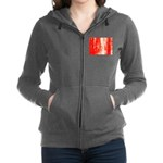Red Sunrise Women's Zip Hoodie