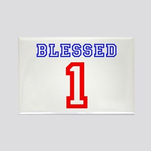 BLESSED 1 Rectangle Magnet
