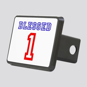 BLESSED 1 Rectangular Hitch Cover