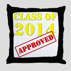 Class of 2014 Throw Pillow