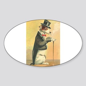 Whimsical Gifts Jack russell smoking dog Sticker