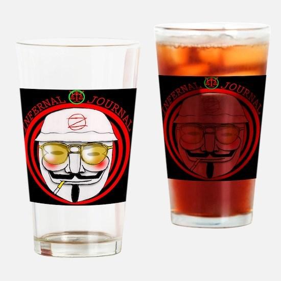 Cool Hunter s. thompson Drinking Glass