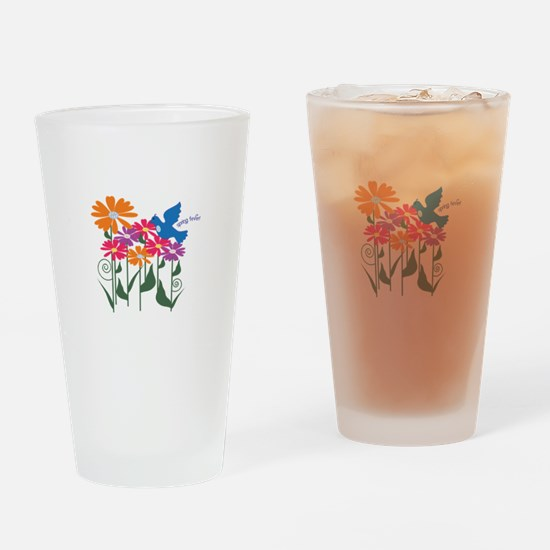 Spring Fever Drinking Glass