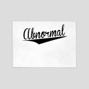 Abnormal, Retro, 5'x7'Area Rug