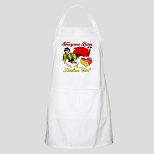 Everyone Loves a Sicilian Girl BBQ Apron
