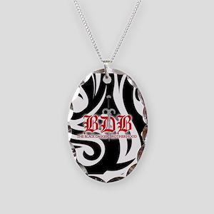 Bdb Bw Necklace Oval Charm