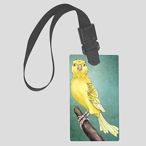 Canary Large Luggage Tag