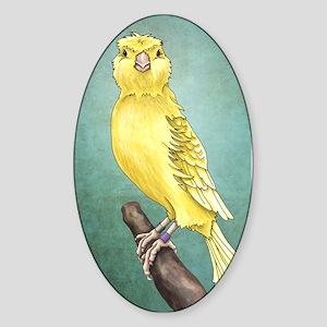 Canary Sticker (Oval)