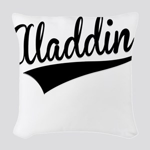 Aladdin, Retro, Woven Throw Pillow