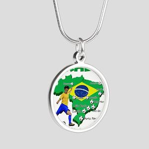 Brasil Futebol 2014 Necklaces