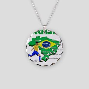 Brasil Futebol 2014 Necklace